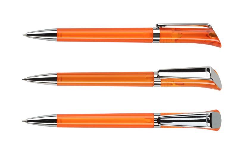 Нанесение логотипа на ручку Galaxy Прозр. + Металл Клип