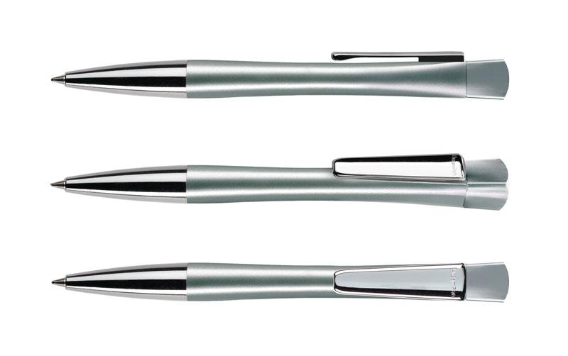 Нанесение логотипа на ручку LENOX SATIN METAL CLIP