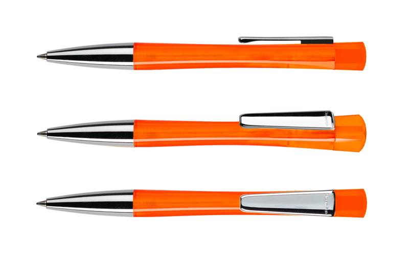Нанесение логотипа на ручку LENOX TRANSPARENT METAL CLIP