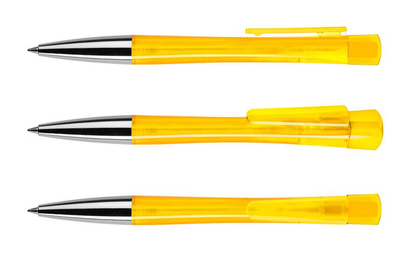 Нанесение логотипа на ручку LENOX TRANSPARENT+ METALL