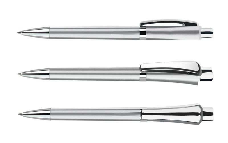 Нанесение логотипа на ручку Optimus Satin + Metal Clip