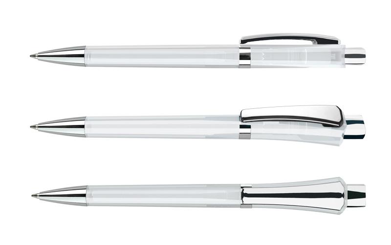 Нанесение логотипа на ручку Optimus Transp. + Metal Clip