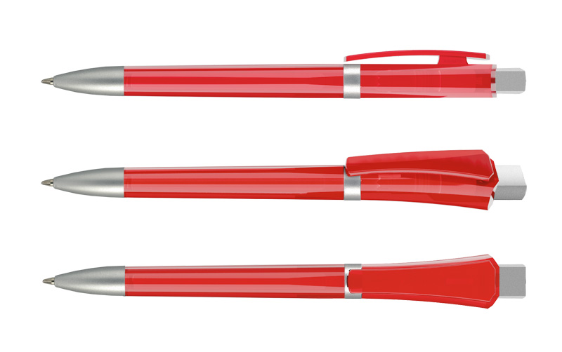 Нанесение логотипа на ручку Optimus Transp. + Satin