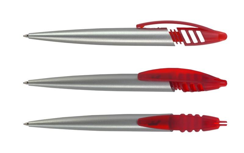 Нанесение логотипа на ручку Shark Серебро Прозр.