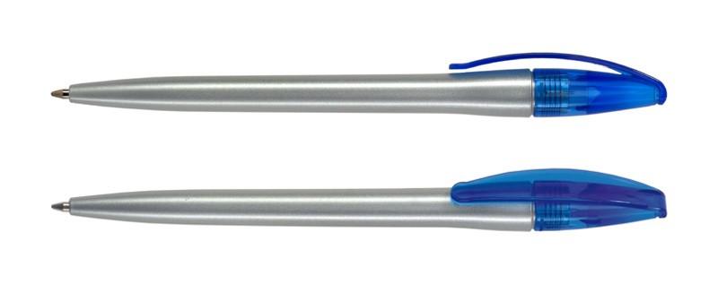 Нанесение логотипа на ручку Slim Прозрачный + Сатин