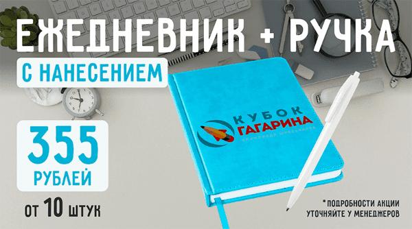 Ежедневник + ручка